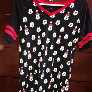 Minnie and Mickey Mouse Night Gown
